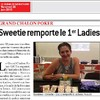 Sweetie remporte le premier Ladies event GCP !